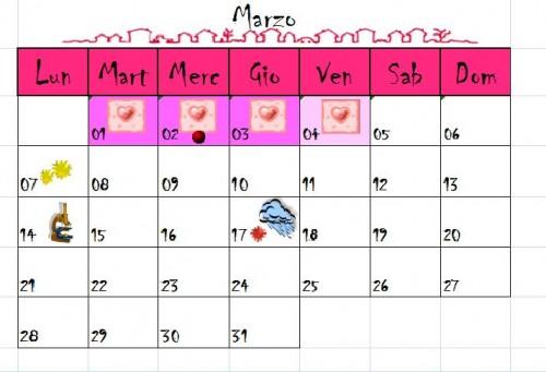 Calendario Mestruale Giorni Fertili.I Giorni Fertili Aspirante Mamma